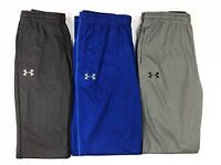 Boy's Youth Under Armour Loose Fit Mesh Athletic Pants