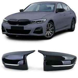 Spiegelkappen zum Austausch Schwarz Glanz für BMW G20 G21 G30 G31 G11 G14 G15