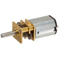 S7X1 JA12-N20 Model DC 12V 100RPM Torque Gearbox Micro Gear Box Motor Silver+Gol