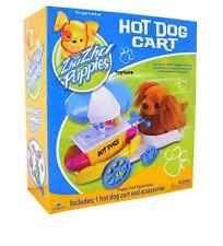 Zhu Zhu Puppies Pet HOT DOG CART Puppy PlaySet Fun Toy Hamster Accessories NEW !