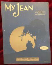 My Jean 1930 De Sylva, Brown & Henderson Hirsch & Lincoff