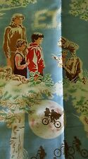 Vintage ET  Extra Terrestrial 80s  Fabric 1982 Movie Phone Home 3+ yards