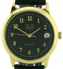 GUB Glashütte Herren Armbanduhr Automatik, Datum,ETA Basis selt. Sammleruhr 90ér