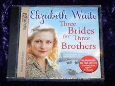 Elizabeth Waite Three Brides for Three Brothers Audio Book MP3 CD BNIB
