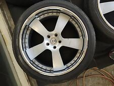 "HRE 945R 22"" Wheel & Tire Package for Range Rover HSE or Sport"