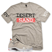 New DESESERT SAND XIV T Shirt for Jordan Retro 14 XIV Desert Sand Infrared