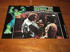 FOTOBUSTA,1980,The Incredible Hulk. L'Incredibile Hulk, Lou Ferrigno, Bill Bixby