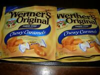 Werther's Chewy Caramels Candies Original Sugar Free, 7.70 Ounce Pack of 2