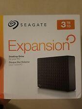 Seagate Expansion 3TB Desktop External Hard Drive USB 3.0 (STEB3000100)