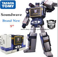 Transformers Soundwave Takara MP-13 MP13 KO With Laserbeak Action Figure No Box