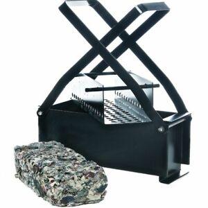 HD Log Briquette Maker Eco Friendly Paper Brick Fire Block Recycling Press