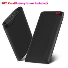 10000mAh Power Bank Dual USB LCD External Backup Battery Portable Phone Charger
