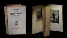 [REVOLUTION EMPIRE NAPOLEON MARINE] GRIVEL (Jean-Baptiste) - Mémoires. EO.