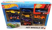 Hot Wheels 10 Die Cast Cars New