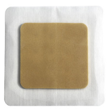 """Silver Foam with Border 6"""" X 6""""  (5 BOXES, 25 DRESSINGS) (Healthcare PKG )"""