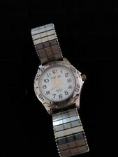 Acqua Indiglo Two Tone Quartz Ladies 30 M Water Resistant Watch