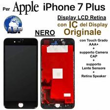 "Display LCD Retina IC Originale e Touch Screen Apple iPhone 7 Plus Nero da 5 5"""
