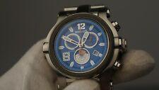 Renato Collezioni Limited trex moonphase diamond chronograph sapphire blue 49MM