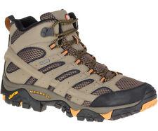 Merrell Moab 2 Mid Goretex Mens (2E) Wide Hiking Shoes - Walnut - 9.5 Us