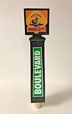 """Boulevard Brewing Co Wheat Unfiltered Beer Tap Handle SMOKESTACK ~ NEW BOX ~ 11"""""""