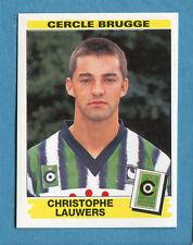 FOOTBALL 96 BELGIO Panini - Figurina-Sticker n. 99 -C. LAUWERS-C.BRUGGE-New