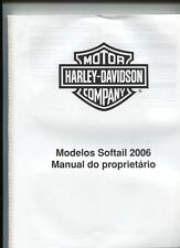 motor HARLEY-DAVIDSON   company  : modelos  SOFTAIL 2006  manual do proprietario