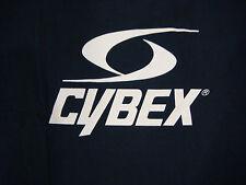Cybex Fitness Exercise Equipment T-Shirt Mens Size M Navy Blue