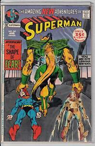 Superman #241 fine/vf