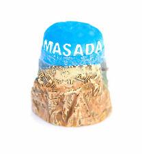 """souvenir thimble sewing """"masada""""  israel holy land"""