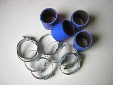 Silicone Hose 45mm Fluro Lined Bike Carb Kit BLUE