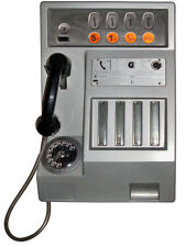 STICKER CABINE TELEPHONIQUE VINTAGE AUTOCOLLANT TA086
