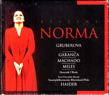BELLINI: NORMA Edita GRUBEROVA Elina GARANCA Aquiles MACHADO HOWARTH HAIDER 2CD