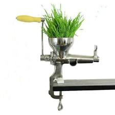 Wheatgrass Juicer Handy Hand Crank Wheat Grass Juicer , Steel Alloy Manual Ideal