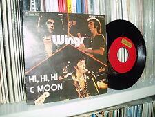 """WINGS 7"""" Hi, Hi, Hi Beatles unique spanish  P/C SPAIN"""