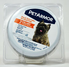 PetArmor Flea & Tick Collar for Small Dogs New 12 Months Protection W/ 2 Collars