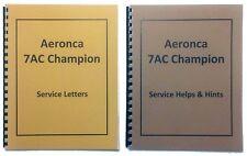 Aeronca 7AC Service Letters and Helps Hints Combo Manuals (Reprint)