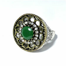 Fine Ring Turkish Silver Ring with Natural Onyx  Cut Size 10 Fine Jewelry  D-58