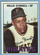 1967 Topps #140 Willie Stargell Pittsburgh Pirates Combined Shipping JVB