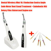 Dental Endodontic Endo Motor Wireless Reciprocating 16:1 Contra Angle Root Canal