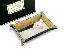 Dalvey Kleinteil-Ablage Leather Stainless Steel for Key, Fountain Pen, Ballpoint