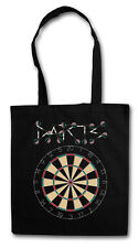 DARTS TARGET & ARROWS SPORT LOGO Hipster Shopping Cotton Bag - Dart Aim Pfeile