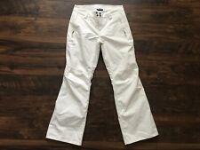 Women's White The North Face Hyvent Snow Ski Pants Size Medium