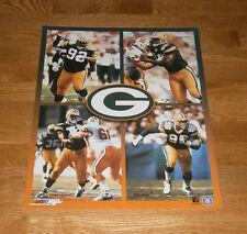 1996 Green Bay Packers D-Line 16x20 poster Reggie White Sean Jones Gilbert Brown