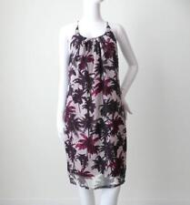 PHILOSOPHY BLUES ORIGINAL Sleeveless Floral Silk Shift Dress EU 34 AU 8 US 2