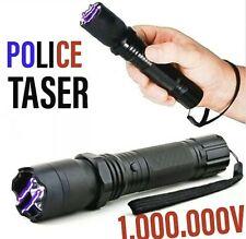 Taser/lampe torche LED 3 EN 1 (1.000.000 Volt) +Laser très puissant
