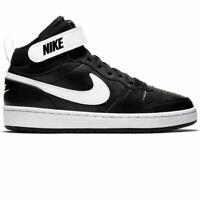 Nike Court Borough 2 Mid Basketball Shoes Kids Boys Girls (GS) CD7782-010
