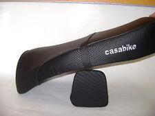 Sitz Sitzbank mit Rückenlehne schwarz Retro Roller Benzhou Znen Yiying Yiben