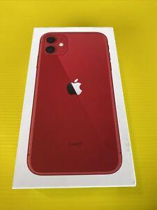 Apple iPhone 11 - 256GB - (Product) Red (Australian Stock) Network Unlocked.