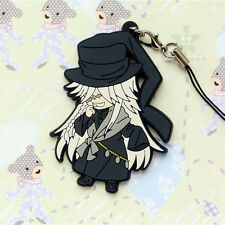 Black Butler Under Taker PVC DETAILED FIGURE Cell Phone Chain Strap Charm