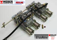 Volvo B18 B20 Hi-performance DCOE Weber kit w/manifold+linkage - Genuine 45DCOE